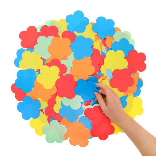 Paper Flowers - Assorted - Pack of 500