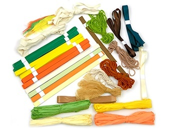 Weaving Frame Natural Weaving Materials Pack - Assorted