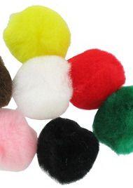 Pom-Poms - Single Colour - Please Select Colour - Sizes - Pack of 100