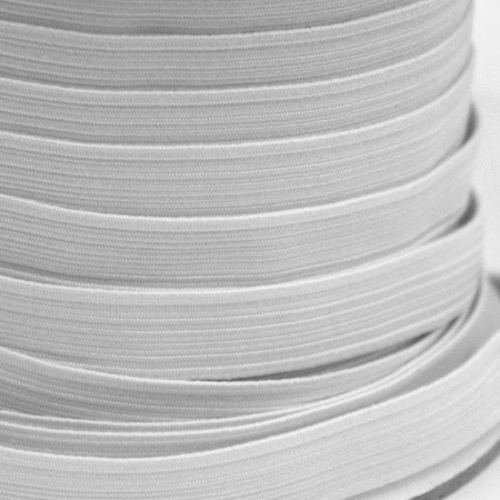 Elastic - White - Assorted Widths & Lengths - 150g Bag