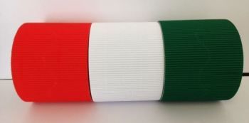 Corrugated Border Rolls - Christmas - Educraft Scalloped Wavy Edge - 57mm x 7.5m - Assorted - Pack of 6