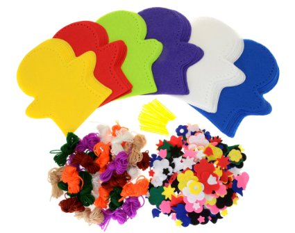 Felt Hand Puppets Class Pack - Assorted - Pack of 30