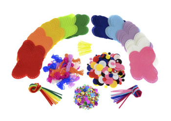 Felt Butterflies Class Pack - Assorted - Pack of 30