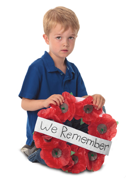 Remembrance Day Poppy Kit - Makes 50