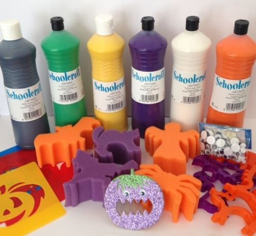 Halloween Activity Themed Pack - Assorted - Over 350 items