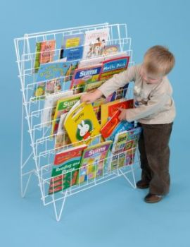 Book Rack - Single Sided - 101 x 79cm - Each