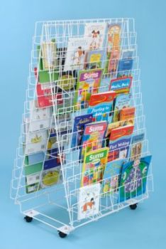 Book Rack - Double Sided - 132 x 79 x 59cm - Each