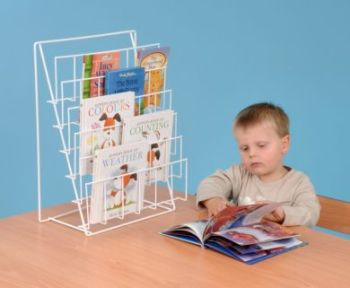 Book Rack - Desktop - 49 x 37 x 20cm - Each