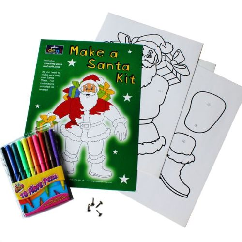 Make a Moving Santa Kit - Each