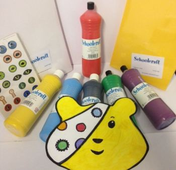 Pudsey Bear Children in Need Theme Pack - Assorted - Over 250 items