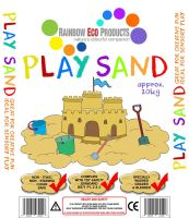 Childrens Play Sand - Soft Quartz - 20kg - Each
