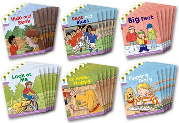 Biff, Chip and Kipper Level 1+ - First Sentences Pack - Assorted - Class Pack of 36