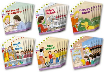 Biff, Chip and Kipper Level 1+ - More First Sentences Pack B - Assorted - Class Pack of 36