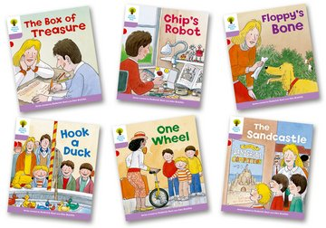 Biff, Chip and Kipper Level 1+ - More First Sentences Pack B - Assorted - Pack of 6