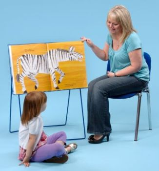 Lets Read Together Big Book Class Display Stand - 95 x 75 x 49cm - Each