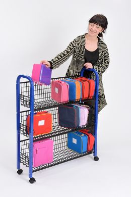 Single Sided Lunchbox Trolley - 103 x 81 x 27cm - Each