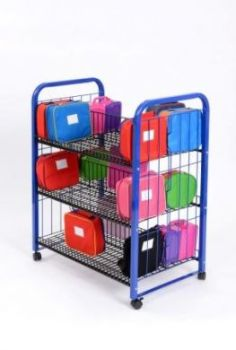 Double Sided Lunchbox Trolley - 103 x 81 x 50cm - Each