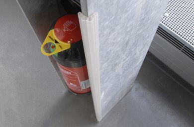 Corner Guard - Transparent - 100 x 1.5 x 1.5cm Strips - Pack of 10