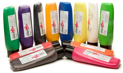 Block Printing Inks Starter Pack - Assorted - Pack of 12 x 300ml
