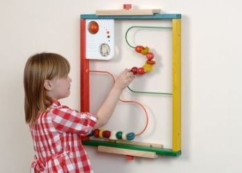 Bead Tracker Play Wall Panel - 60 x 48cm - Each