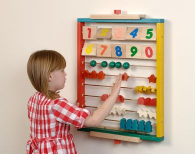 Number & Counting Wall Panel - 60 x 48cm - Each