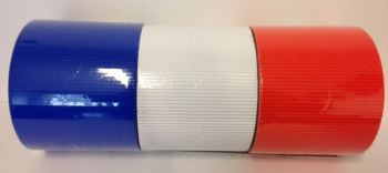 Corrugated Border Rolls - Great Britain Olympic - Educraft Scalloped Wavy Edge - 57mm x 7.5m - Assorted - Pack of 6
