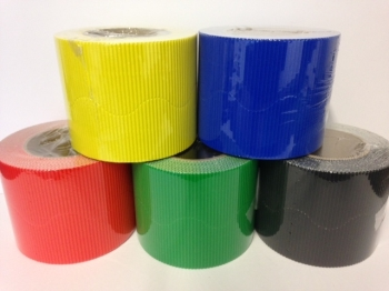 Corrugated Border Rolls - Olympic Rings - Educraft Scalloped Wavy Edge - 57mm x 7.5m - Assorted - Pack of 10