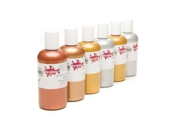 Metallic Artmix Ready Mixed Paint Set - Assorted - Pack of 6