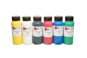 Scola System Acrylic Paint Set - Assorted - 6 x 150ml - Pack of 6