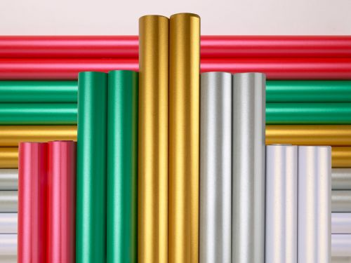 Centura Pearl Festive Poster Paper Display Rolls - Assorted - 70cm x 4m - P