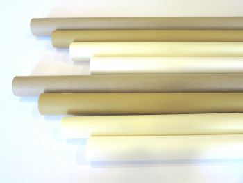 Natural Poster Paper Display Rolls - Assorted - 1020mm x 10m - Pack of 8