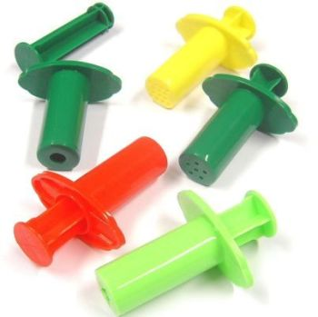 Dough Extruders - Assorted - Pack of 5