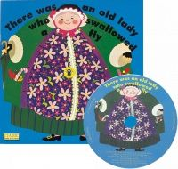 There was an Old Lady who Swallowed a Fly Book and CD - Each