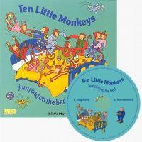 Ten Little Monkeys Book and CD - Each