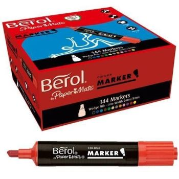 Berol Colour Markers Class Pack - Assorted - Pack of 144