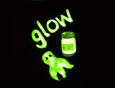 Glow in the Dark Paint - Yellow - 50ml - Each
