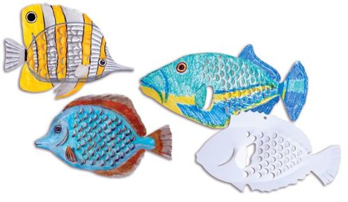 Flying Fish Card Cut-Outs - 36 x 22cm - Pack of 24