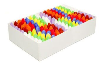 Chunki Chalks Class Pack - Assorted - Pack of 160