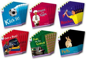 Floppy's Phonics Non-Fiction Stories Level 1+ - Assorted - Class Pack of 36