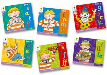 Floppy's Phonics, Sounds and Letters Level 1+ - Assorted - Pack of 6