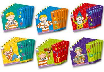 Floppy's Phonics, Sounds and Letters Level 1+ - Assorted - Class Pack of 36