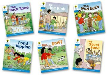 Biff, Chip and Kipper Stories Level 3 - First Sentences - Assorted - Pack of 6