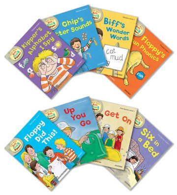 Biff, Chip, and Kipper Stories - Level 1 Assorted - Pack of 8