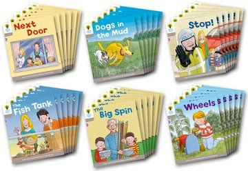 Biff, Chip and Kipper Level 1 - Decode & Develop Stories Pack A - Assorted - Class Pack of 36