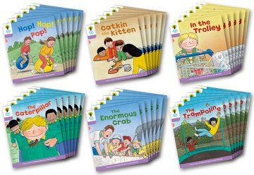 Biff, Chip and Kipper Level 1+ - Decode & Develop Stories - Assorted - Class Pack of 36
