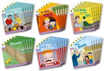 Biff, Chip and Kipper Level 1+ - Decode & Develop More Stories Pack A - Assorted - Class Pack of 36