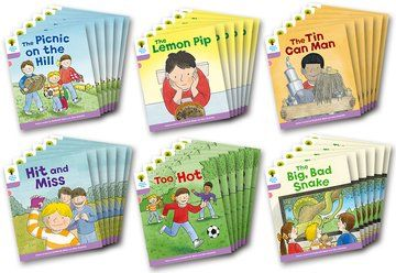 Biff, Chip and Kipper Level 1+ - Decode & Develop More Stories Pack B - Assorted - Class Pack of 36