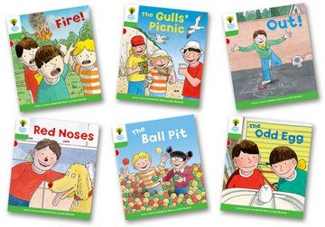 Biff, Chip and Kipper Stories Level 2 - Decode and Develop - Assorted - Pack of 6