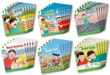 Biff, Chip and Kipper Stories Level 2 - Decode and Develop - Assorted - Class Pack of 36