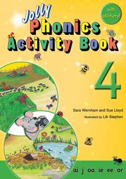 Jolly Phonics Activity Book 4 - Each